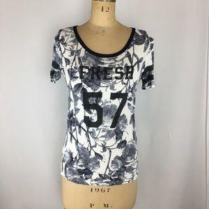 Joe Fresh Floral Graphic T-Shirt